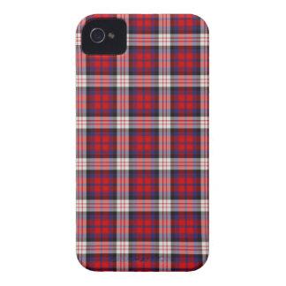 Caso intrépido de MacDonald Blackberry Case-Mate iPhone 4 Protectores