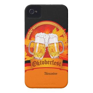 Caso intrépido de Oktoberfest Blackberry iPhone 4 Carcasas