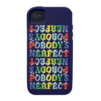 Caso intrépido del ambiente del iPhone 4 de Nerfec Case-Mate iPhone 4 Fundas