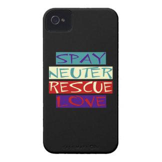 Caso intrépido del amor del rescate de Blackberry iPhone 4 Coberturas
