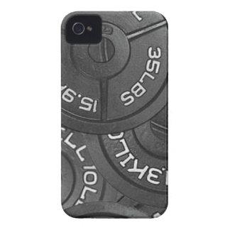 Caso intrépido del levantamiento de pesas de iPhone 4 carcasas