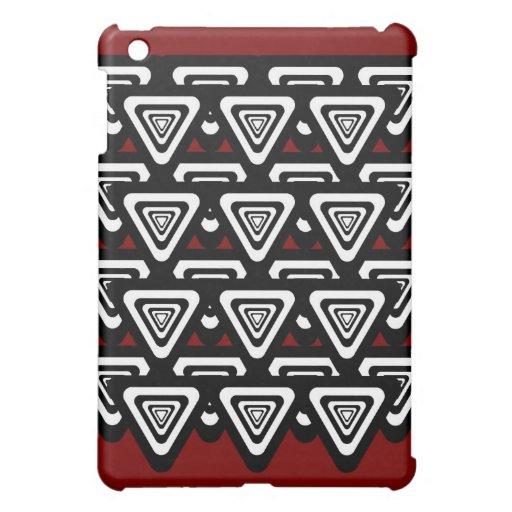 Caso invertido del iPad de los triángulos (negros/