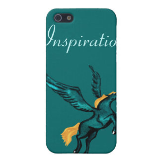 Caso iPhone4 de Pegaso (Truquoise) iPhone 5 Funda