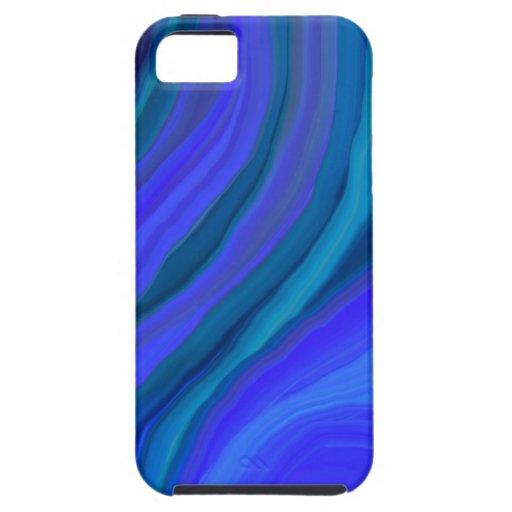 Caso Iphone5 de CHAKRA_BLUE (garganta) iPhone 5 Cárcasa