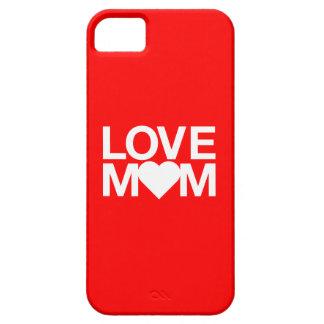 caso iphone5 de la mamá del amor funda para iPhone 5 barely there