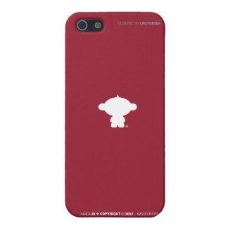 caso iPhone5/PANDA J9 Shillouette iPhone 5 Cobertura