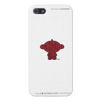 caso iPhone5/PANDA J9 Shillouette iPhone 5 Coberturas
