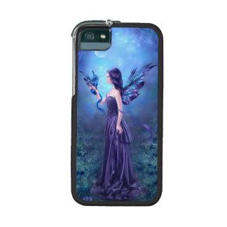 Caso iridiscente 5 5S del iPhone del arte de la ha