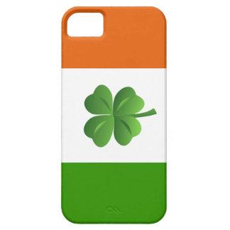 Caso irlandés del iphone 5 de la bandera iPhone 5 carcasas