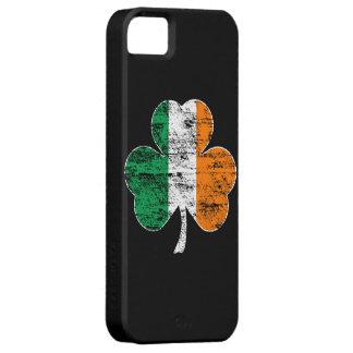 Caso irlandés del iPhone 5 del trébol de la bander iPhone 5 Coberturas