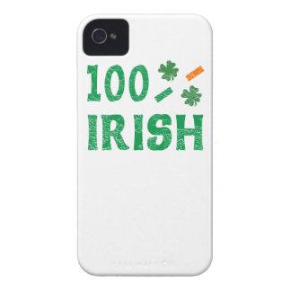Caso irlandés del iPhone del 100 por ciento iPhone 4 Funda