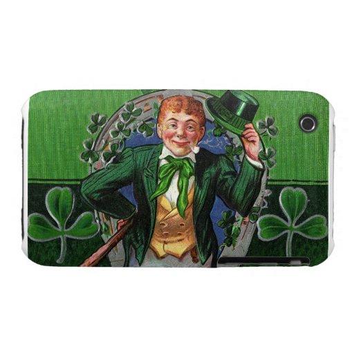 Caso irlandés del saludo Case-Mate iPhone 3 protectores