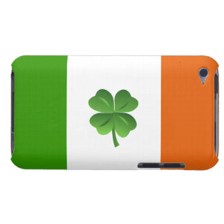 Caso irlandés del tacto de iPod de la bandera Barely There iPod Carcasas
