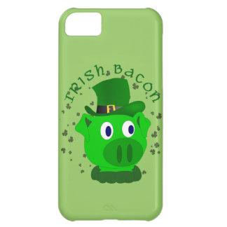 Caso irlandés divertido del iPhone del tocino Carcasa Para iPhone 5C