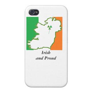 Caso irlandés y orgulloso del iPhone iPhone 4/4S Fundas