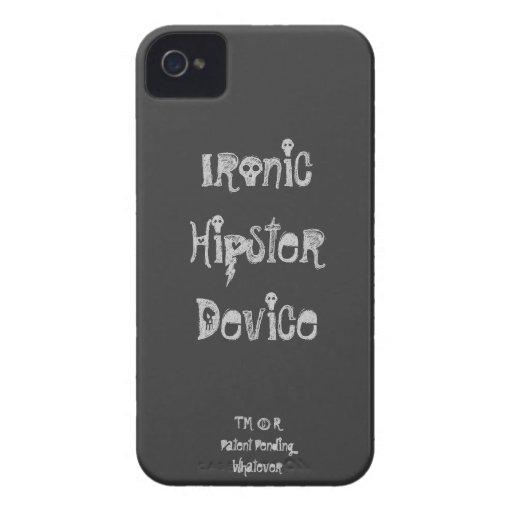 Caso irónico del iPhone 4/4S del dispositivo del i iPhone 4 Funda