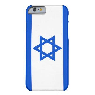 Caso israelí del iPhone 6 de la bandera Funda Para iPhone 6 Barely There