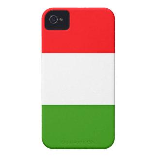 Caso italiano de IPhone 4 de la bandera Carcasa Para iPhone 4
