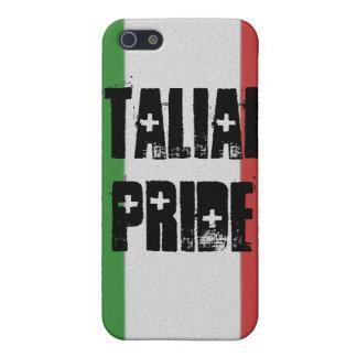 Caso italiano del iPhone 4 de la bandera de Italia iPhone 5 Funda