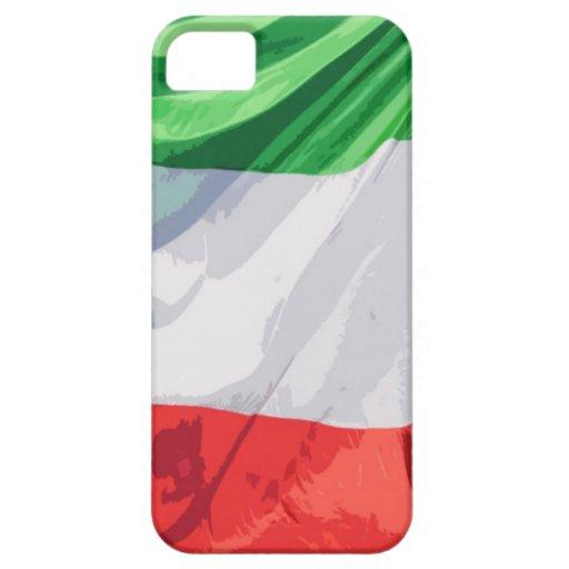 Caso italiano del iPhone de la bandera iPhone 5 Cobertura