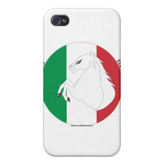 Caso italiano del iPhone del estilo 1 del sementa iPhone 4/4S Fundas
