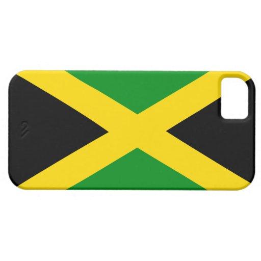 Caso jamaicano de la moda de la bandera iPhone 5 carcasa
