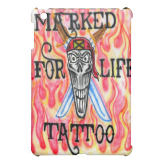 Caso jamaicano del iPad del arte del tatuaje del p
