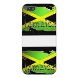 Caso jamaicano del iPhone de la bandera iPhone 5 Carcasa