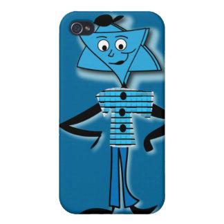 "Caso ""Jánuca feliz "" de Iphone 4 iPhone 4 Funda"