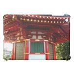 Caso japonés del iPad de la pagoda del templo