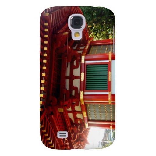 Caso japonés del iPhone 3 de la pagoda del templo