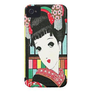 Caso japonés del iPhone 4 de la belleza del iPhone 4 Cobertura