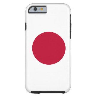 Caso japonés del iPhone 6 de la bandera Funda Para iPhone 6 Tough