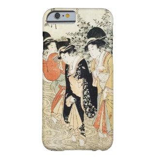 Caso japonés del iPhone 6 del arte