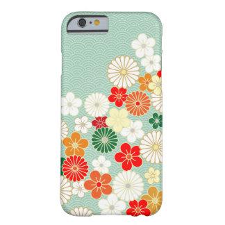 Caso japonés elegante del iPhone 6 del estampado Funda Barely There iPhone 6