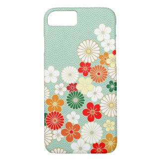 Caso japonés elegante del iPhone 7 del estampado Funda iPhone 7