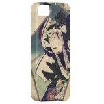 caso japonés fresco del vintage iphone5 del samura iPhone 5 Case-Mate protectores