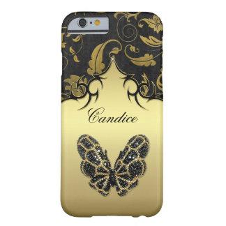 Caso Jeweled del iPhone 6 del damasco de la Funda Para iPhone 6 Barely There