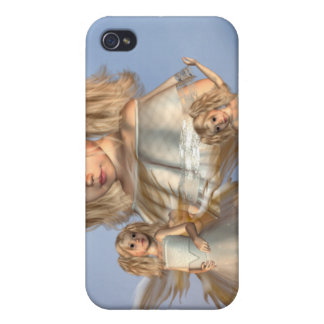 Caso joven del iPhone 4 de los ángeles iPhone 4 Protector