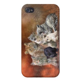 Caso joven y salvaje del arte para el iPhone 4 iPhone 4 Cárcasas