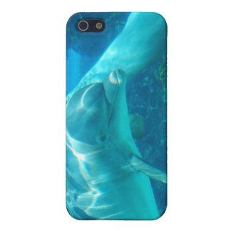 Caso juguetón del iPhone 4 de los delfínes iPhone 5 Carcasa