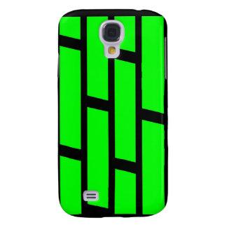 Caso ladrillo verde y negro de 3G de Iphone