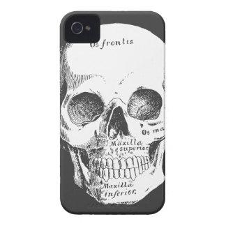 Caso latino 4s del iPhone 4 del metal del gótico d iPhone 4 Cárcasa