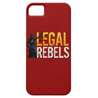 Caso legal del iPhone 5 5c de los rebeldes iPhone 5 Protectores