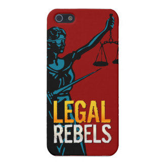 Caso legal del iPhone 5/5S de los rebeldes iPhone 5 Carcasas