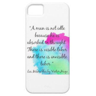 caso Les Misérables del iPhone de Victor Hugo iPhone 5 Fundas