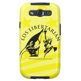 Caso libertario de LDS Galixy SIII Galaxy S3 Funda
