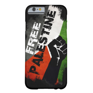 Caso libre de G del caso del iPhone 6 de Palestina Funda De iPhone 6 Barely There