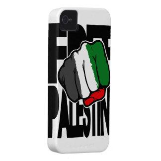 Caso libre de G del iPhone 4 de Palestina Case-Mate iPhone 4 Funda