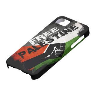Caso libre de G del iPhone 5 de Palestina Funda Para iPhone 5 Barely There